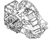 Lincoln MKX Transmission Assembly - DA8Z-7000-E