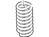 Ford Coil Springs - 2C3Z-5310-VA