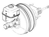 Ford F-250 Super Duty Brake Master Cylinder