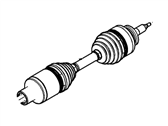Lincoln Drive Shaft - AL3Z-3A427-B
