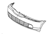 Genuine Ford 6W4Z-8200-AAA Radiator Grille Assembly