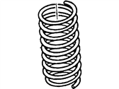 Ford Contour Coil Springs - F8RZ-5310-FC