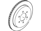 Ford Expedition Brake Disc - CL1Z-2C026-A