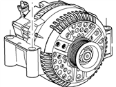 Ford Alternator - 6L2Z-10346-BARM