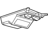 Genuine Ford Indicator 3C3Z-10D898-AA