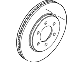 Ford Expedition Brake Disc - 2L1Z-1V125-AA