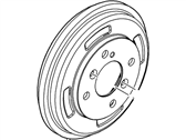 Ford Fiesta Brake Drum - BE8Z-1126-A