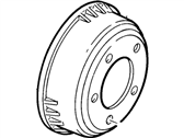 Lincoln Town Car Brake Drum - FOVZ-1126-BA