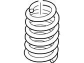 Ford Flex Coil Springs - 8A8Z-5560-F