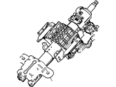 Ford Steering Column - CC3Z-3C529-U