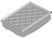 Lincoln Air Filter - DS7Z-9601-A