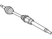 Ford Transit Connect Axle Shaft - 9T1Z-3B436-A