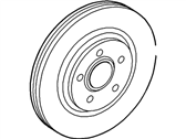 Lincoln LS Brake Disc - XW4Z-1125-AA
