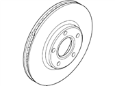 Ford Transit Connect Brake Disc - 2T1Z-1125-A