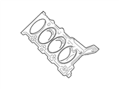 Lincoln LS Cylinder Head Gasket - XW4Z-6051-AA