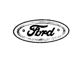 Ford E7TZ-9842528-A Name Plate