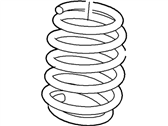 Ford Edge Coil Springs - 7T4Z-5560-C