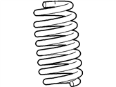 Ford Coil Springs - F2UZ-5310-U