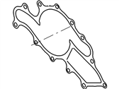 Mercury Water Pump Gasket - F58Z-8507-A