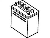 Ford Pinto Car Batteries - BXT-56