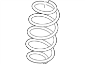 Ford Explorer Coil Springs - BB5Z-5310-A