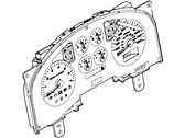 Lincoln Instrument Cluster - 7L3Z-10849-CA