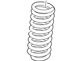 Ford F-450 Super Duty Coil Springs - 5C3Z-5310-BA