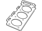Mercury Mountaineer Cylinder Head Gasket - 4L5Z-6051-BA