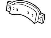 Ford Aerostar Brake Shoe - F1TZ-2001-A