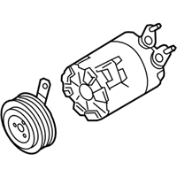 Ford GV6Z-19703-S Compressor Assembly