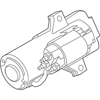 Ford GV6Z-11002-A Starter Motor Assembly