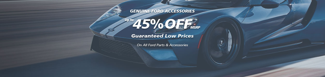 Genuine Mustang accessories, Guaranteed lowest prices
